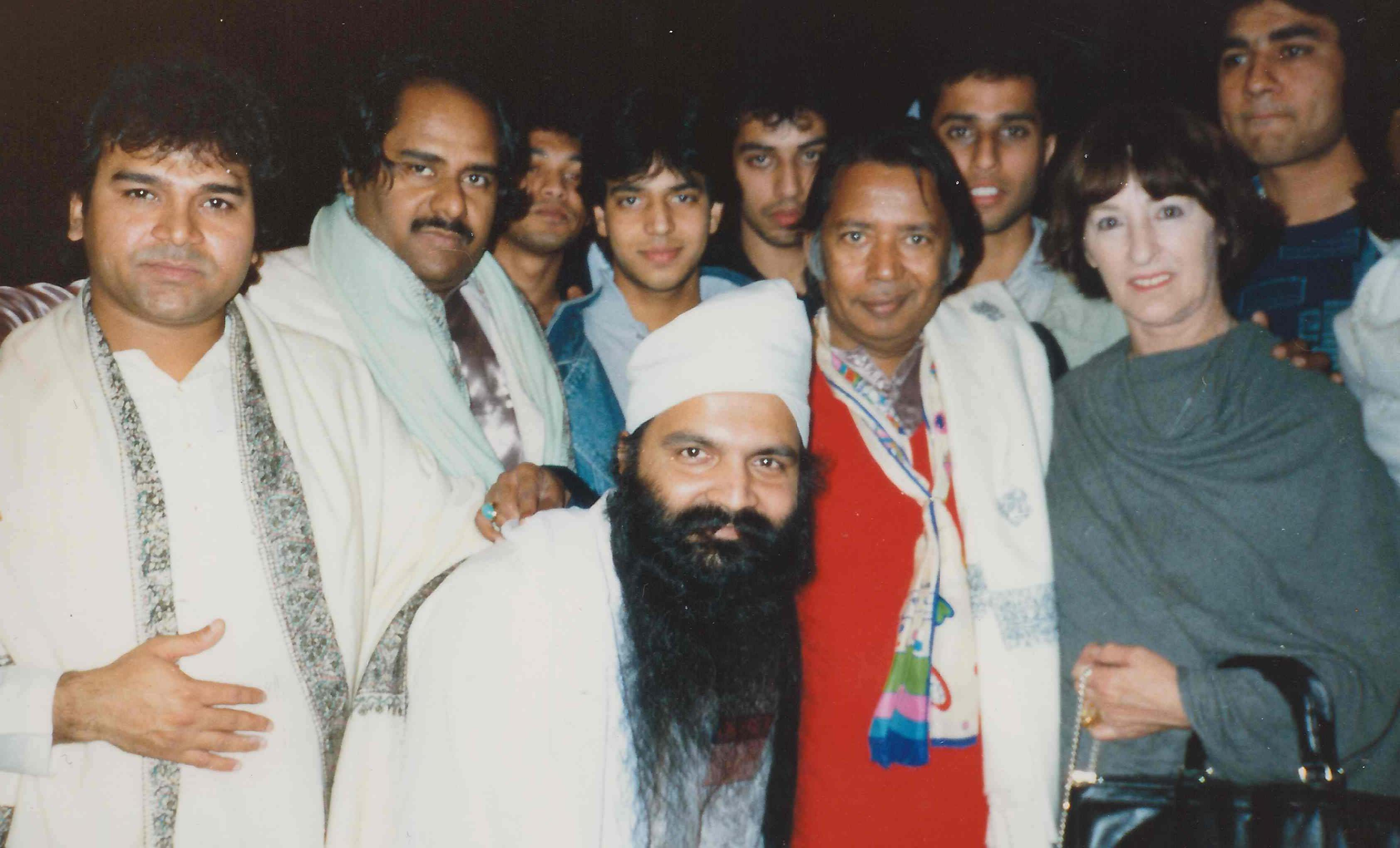 Members of the Asian School Of Music Including Founder Amrik Singh